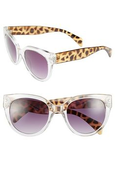 FE NY 'Animal' 53mm Sunglasses available at #Nordstrom