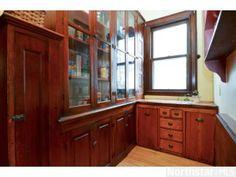 Original Victorian kitchen pantry
