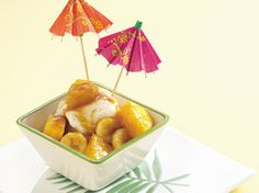 Rum-Caramel Tropical Sundaes--try over pancakes and French Toast!