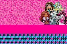 Montando minha festa: Monster High