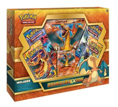Pokémon - Jeux de Cartes - Produits Spéciaux - Charizard Ex Box (dracaufeu Ex) Anglais: Amazon.fr: Jeux et Jouets