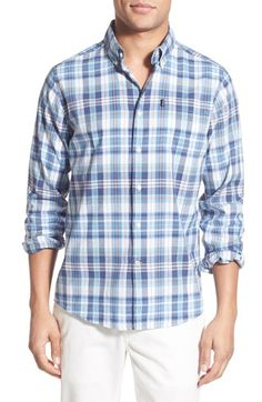 Barbour 'Orson' Tailored Fit Plaid Sport Shirt