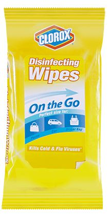 My Travel Packing List: Clorox® Disinfecting To-Go Wipes