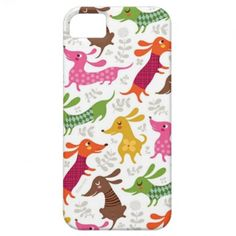 #Doxie Pattern #iPhone 5 Cases