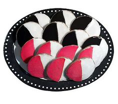The Black & White Cookie Co. Strawberry and Classic Black And White Cookies, Black White, Strawberry, Classic, Ideas, Black And White, Derby, Black N White, Strawberry Fruit