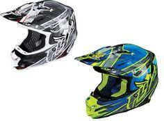 Fly Racing Adult F2 Carbon Acetylene Helmet New Black Blue 73 405 ECKLUND MOTORSPORTS