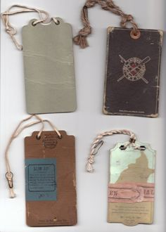 vintage clothing stores hang tags - Google Search