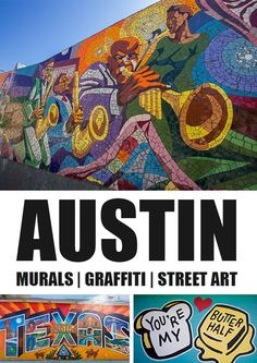 Visiting Austin, Texas? These are the must-go places to find the best in street art
