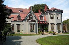 """Kingscote"" - Gothic Revival style"