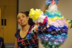 You can make pinatas in all shapes in sizes yourself! See how...