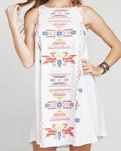 Creative geometric tank dress for women white long tank tops