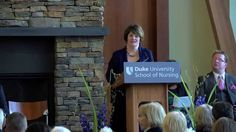Duke School of Nursing Ceremony for the Dedication of a New Wing in the ...