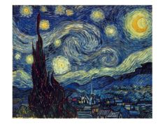 Van Gogh: Starry Night Prints by Vincent van Gogh at AllPosters.com
