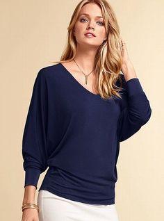 Victoria's Secret NEW! Dolman-sleeve...     $39.50