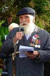 George Evans & Shropshire's young and old pay respects to war heroes
