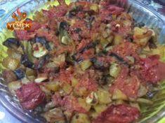 Fırında Türlü Tarifi Guacamole, Grains, Mexican, Rice, Meat, Chicken, Ethnic Recipes, Food, Beef