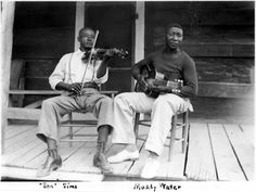 Son Sims and Muddy Waters