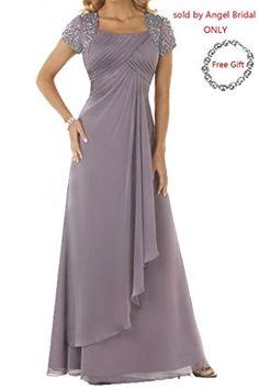 Angel Bride Column Floor-Length Chiffon Evening Prom Gowns(Free Bracelet)- US Size 18W Angel Bride http://www.amazon.com/dp/B00PRXDI7C/ref=cm_sw_r_pi_dp_TS66ub0HHEKPD