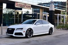 #Audi RS 7 rolling on RS QUATTRO wheels.