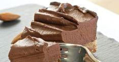 Raw Chocolate Cheesecake Recipe Desserts with almonds, medjool date, coconut oil, sea salt, avocado, coconut oil, raw cacao, sea salt, agave nectar
