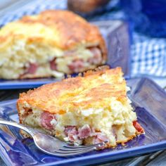 Grandma's Ham & Swiss Pie - 4 Sons 'R' Us
