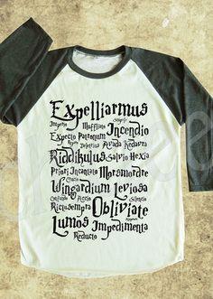 Magic Spell tshirt Harry Potter