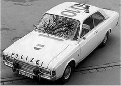 Ford Taunus 17M, polizei germany