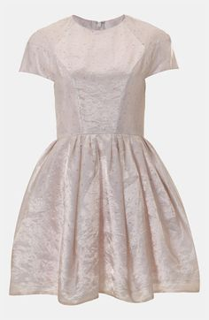 Topshop Organza Party Dress #Nordstrom #britishstyle
