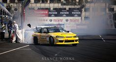 Awesome shot! Formula Drift, Long Beach '12