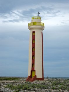Lighthouse (after renovation)...Bonaire, Netherlands Antilles