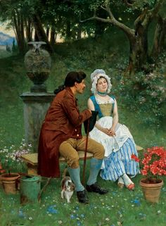 Alberto Pisa ~ Afternoon Courtship