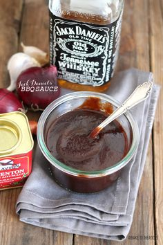 Jack Daniel's BBQ Sauce | Bake to the roots Come and see our new website at bakedcomfortfood.com!