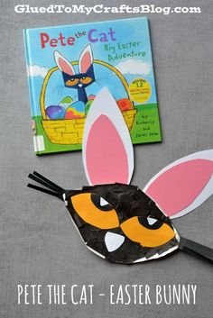 Pete The Cat - Easter Bunny Kid Craft