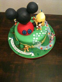 sugar: Mickey Mouse Club House Cake