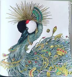 """#imagimorphia #animorphia #kerbyrosanes #říšesnů #coloringbook…"