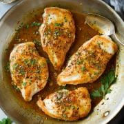 Maple Mustard Skillet Chicken