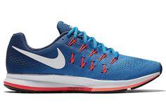 Nike AIR ZOOM PEGASUS 33 Bleu Orange Homme | Alltricks.fr