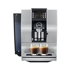 The Jura fully automatic coffee center prepares coffee with less noise in less time than ever before. Purchase the Jura at in Coffee and get started! Automatic Espresso Machine, Espresso Coffee Machine, Espresso Maker, Coffee Maker, Espresso Latte, Jura Espresso, Jura Coffee Machine, Coffee Center, Coffee Accessories