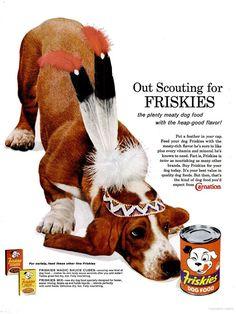 Friskies Dog Food (1962)