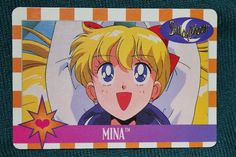 Sailor Moon Trading Card #14 Bandai 1995 Kodansha Toei Naoko Takeuchi