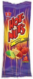 Snack food consisting of processed nuts