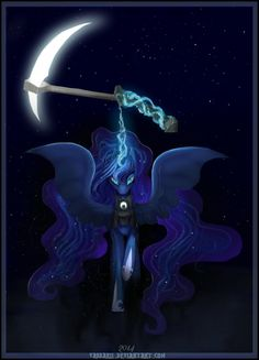 artistvongrell derpibooru princess warrior 640288 scythe magic night stars luna safe solo artistvongrell magic night princess luna safe scythe solo stars warrior luna DerpiboorYou can find Princess luna and more on our website Dessin My Little Pony, My Little Pony Drawing, My Little Pony Comic, My Little Pony Pictures, Mlp Unicorn, Celestia And Luna, Princess Celestia, My Little Pony Wallpaper, My Little Pony Princess