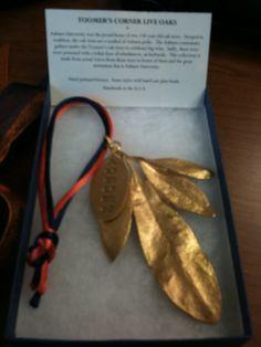Bronzed Toomer's leaves! Love it!