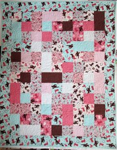Rodeo Rider Flannel Patchwork PDQ Quilt Kit