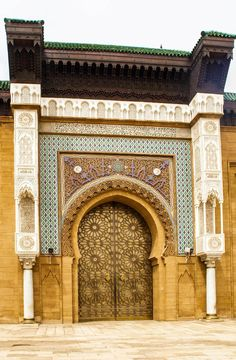 Entry doors to the Royal Palace in Casablanca, Morocco | 20 Photos that Prove Morocco is a Dream Destination