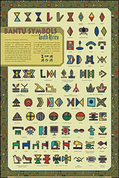 Bantu Symbols of South Africa. If you are outside of a real world culture and are considering getting one its symbols as a tattoo or something...please reconsider: http://mycultureisnotatrend.tumblr.com/ https://en.wikipedia.org/wiki/Cultural_appropriation