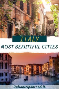 Italy, Most beautiful cities