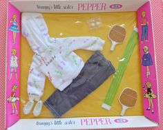 Vintage Pepper Tammy s Little Sister After School Mint in Box MIB NRFB NRFP