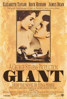Giant (1956) - poster