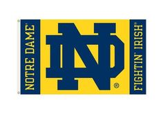 Notre Dame Fighting Irish Flag 3x5